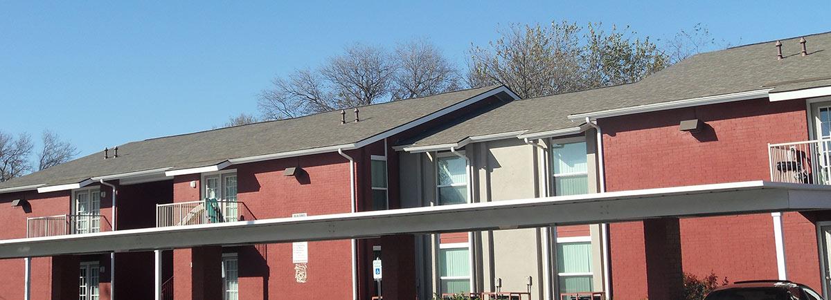 Woodside village apartments header