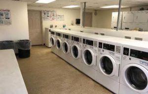 Interior Of Laundry Facility