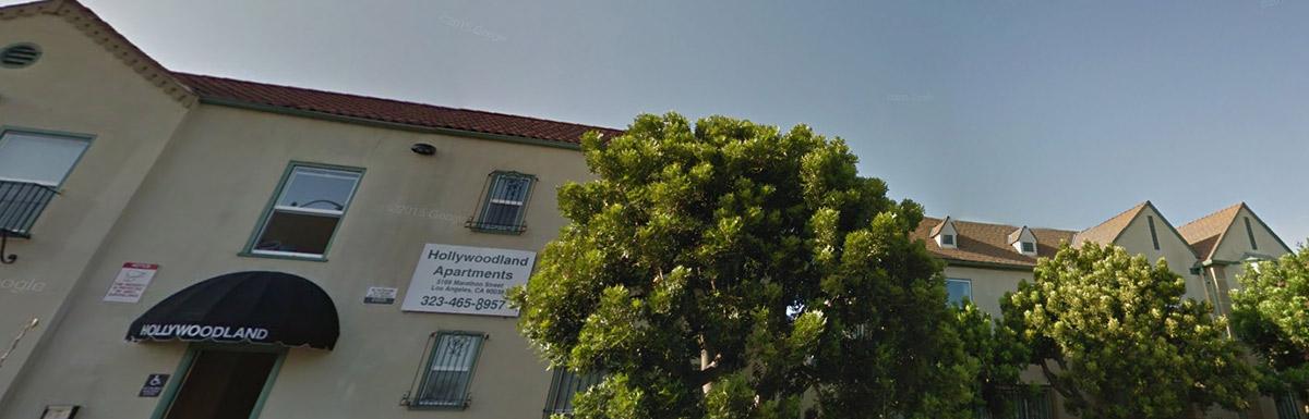 Hollywoodland apartments header